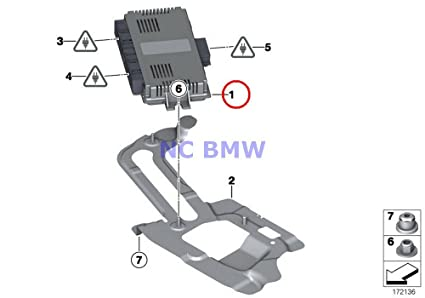 Amazon com: BMW Mini Genuine Control Unit - ''Footwell
