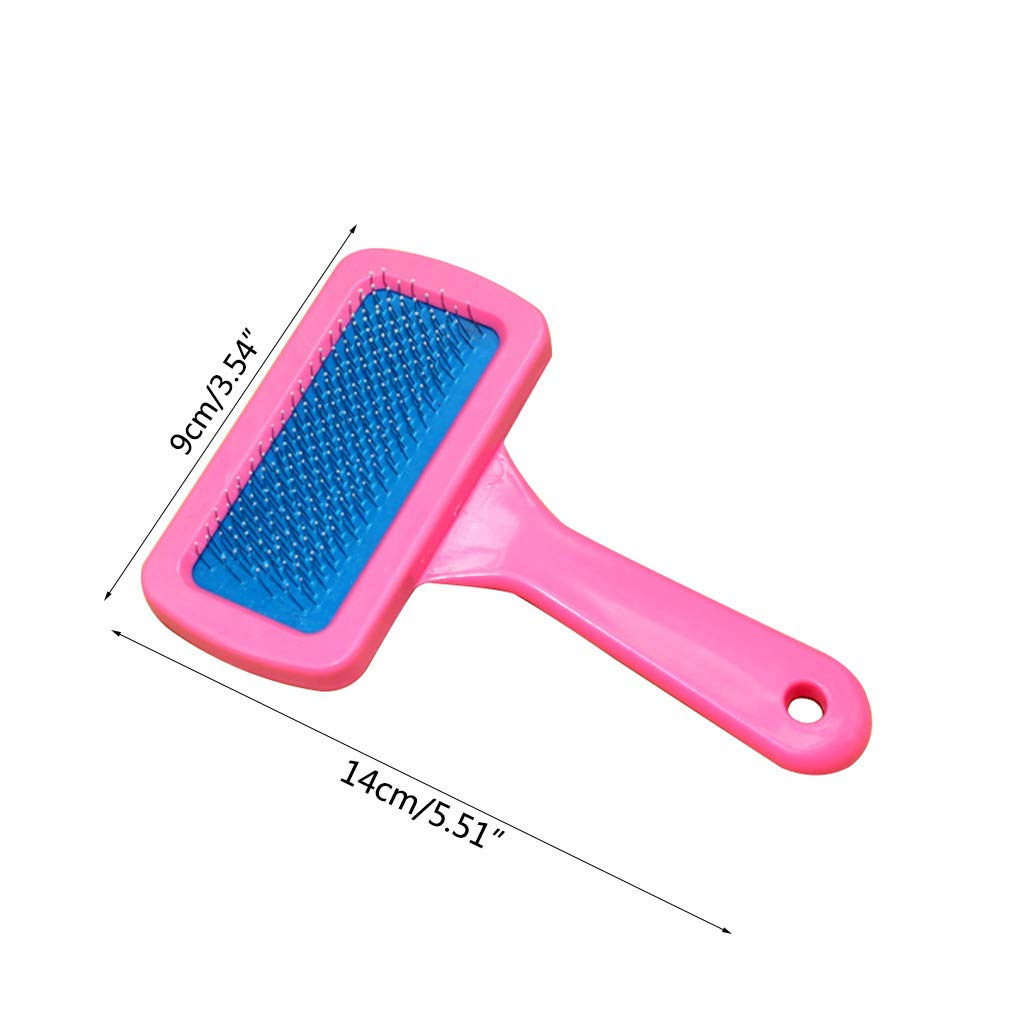 Oranmay Pet Grooming Comb Dutch Pig Rabbits Dog Comb Dry Cleaning Brush Rabbit Bathing Supplies