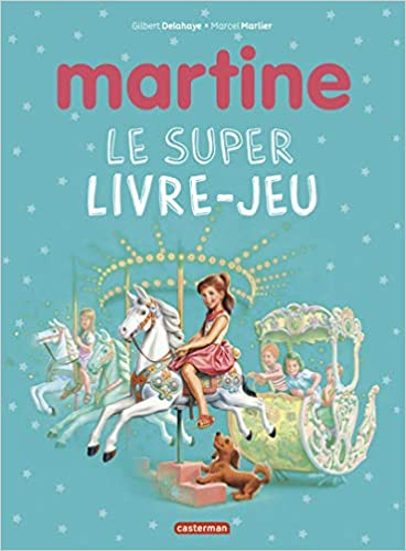 Martine Le Super Livre Jeu Gilbert Delahaye Marcel
