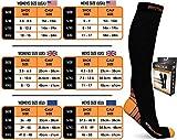 Physix Gear Compression Socks for Men & Women 20-30