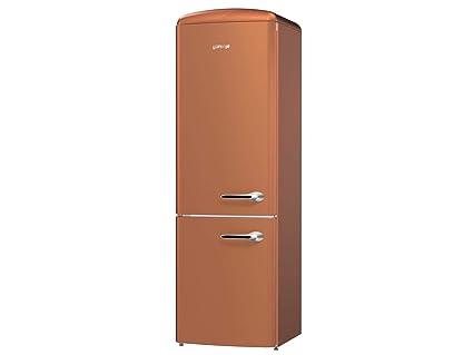 Gorenje Kühlschrank In Betrieb Nehmen : Gorenje ork cr l stand kühl gefrier kombination copper braun