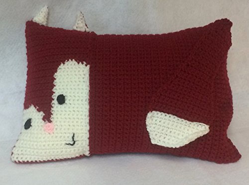 Fox Pillow – Crochet Amigurumi