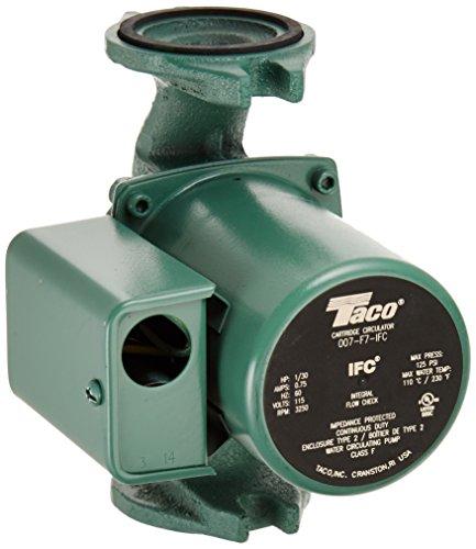 Taco 007-F7-IFC 1/30 HP 115V Circulator Pump by Taco