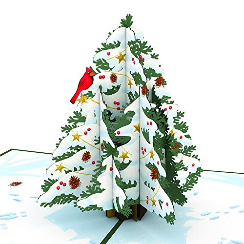 Lovepop Night Before Christmas Tree 3D Pop-Up Greeting CArd