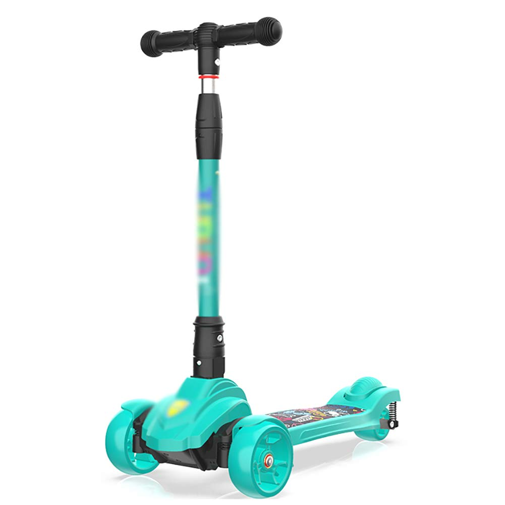 Patinete Scooter Plegable para niños con PU Destello Rueda ...
