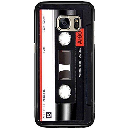 Price comparison product image SEENPIN Galaxy S7 Case Retro Magnetic Tape Music Case Cover for Samsung Galaxy S7