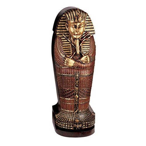 Design Toscano Tutankhamen Sarcophagus CD Cabinet by Design Toscano