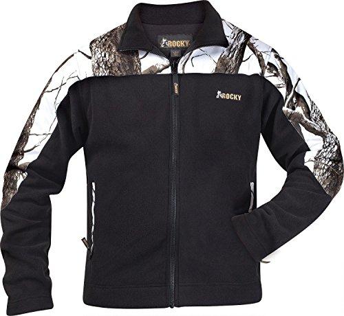 Rocky Men's Silent Hunter Tree Hardwoods Snow Fleece Jacket, Camouflage, X-Large