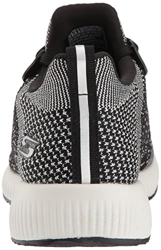 Squad Femme Spark Skechers hot Bobs Noir Baskets Enfiler UwRCHfxq