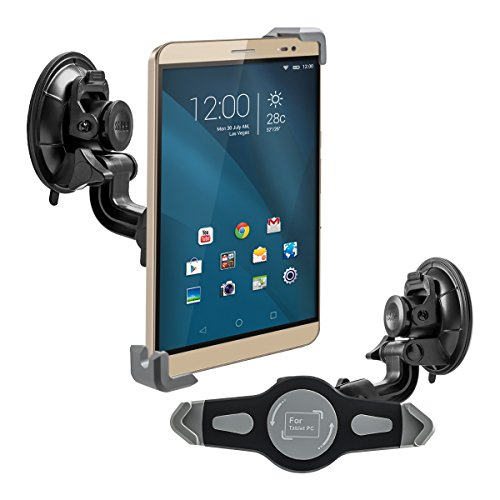 kwmobile KFZ Scheiben Halterung für Huawei MediaPad X2 7.0 - PKW Auto Halter mit Saugnapf in Schwarz