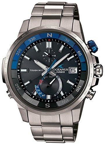 CASIO watch OCEANUS CACHALOT compass mounted Solar radio OCW-P1000-1AJF Men
