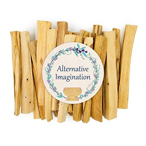 Alternative Imagination Premium Palo Santo Holy Wood Incense Sticks 4 Ounces, 100% Natural Sustainable, Wild Harvested. by Alternative Imagination