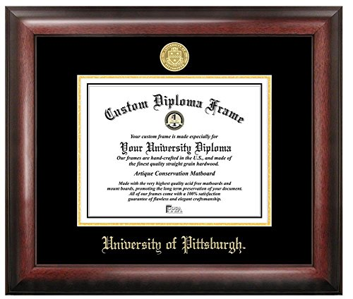 Pitt University Panthers Home Office Diploma Picture Frame by Landmark Publishing