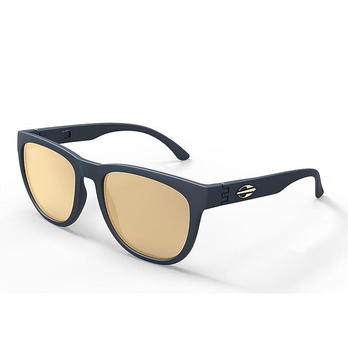 Gafas de sol Santa Cruz, Mormaii azul mate con lentes dorada ...