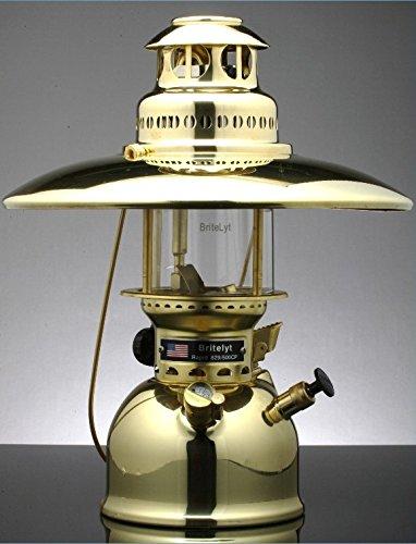 BriteLyt/Petromax USA 500CP/XL Pressure Lantern Polished brass finish by BriteLyt/Petromax USA (Image #3)