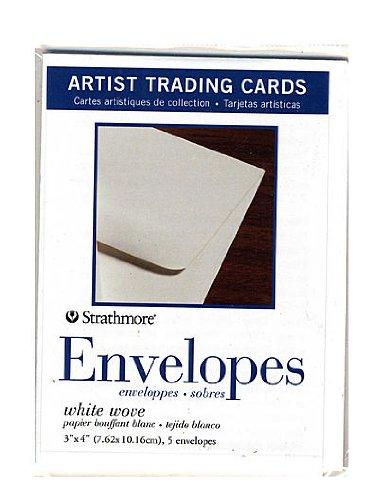 Strathmore Artist Trading Cards envelopes pack of 5 [PACK OF 6 ] by Strathmore