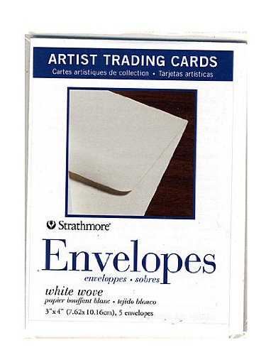 Strathmore Artist Trading Cards envelopes pack of 5 [PACK OF 6 ] by Strathmore