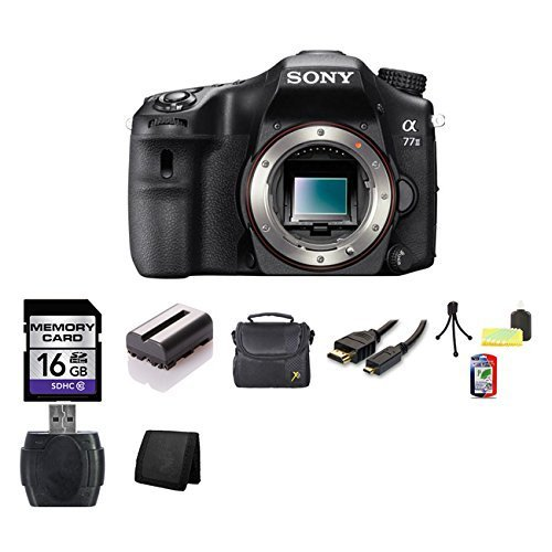 Sony A77II 24.3 MP APS-C Digital SLR Camera (Body)