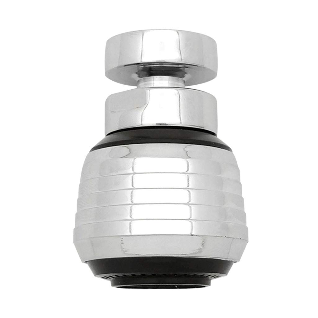 Kabter 360-Degree Swivel Dual-Spray function 2-Flow Kitchen Sink faucet Aerator with 55/64