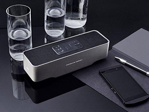 KEF Porsche Design GRAVITY ONE Bluetooth Speaker (Silver)