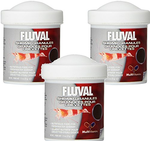 - Fluval Shrimp Granules - 1.2 Ounces Per Pack (3 Pack)