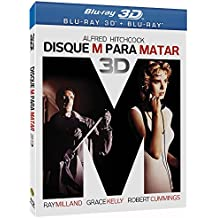 Blu-ray 3D Disque M Para Matar [ BRAZILIAN EDITION ] Dial M for Murder [ Audio and Subtitles in English + Spanish + Portuguese ] with SlipCover