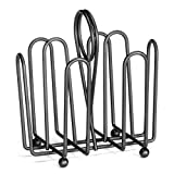 Tablecraft 597CBK Black Wire Jelly Packet Rack - 12/Pack