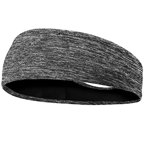 EasYoung Headbands for Men, 6/3/2/1 Pack Sweat Bands Headbands Mens Sport Cooling Headbands for Running, Crossfit, Working Out and Performance Stretch Guys Hairbands