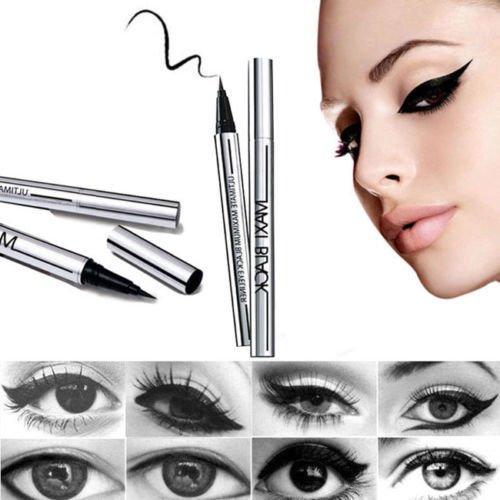 Price comparison product image Gydoxy£¨TM£ 1 X NEWEST Women Ladies Extreme Black Eyeliner Waterproof Make Up Beauty Eye Liner Pencil Pen HOT Beauty Tool