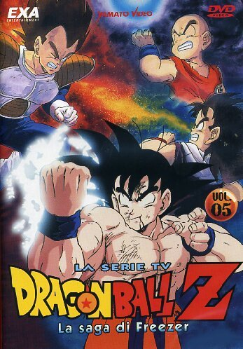 dragon ball z la saga di freezer 05 dvd Italian Import (Dragon Ball Z La Saga De Freezer)