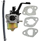 Mckin Carburetor w/ Gasket Fuel Line for Champion Power Equipment 3500 4000 Watts Gas Generator
