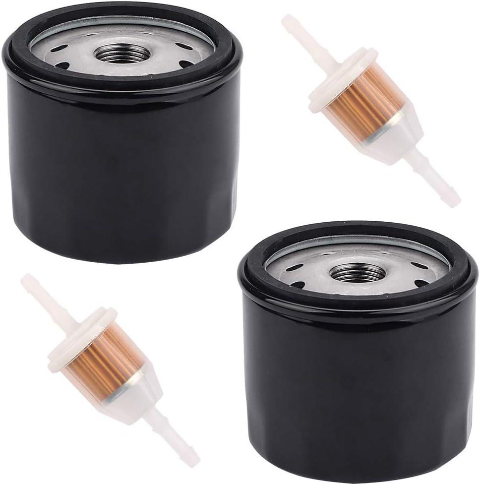 Panari 1205001-S KH-12-050-01 Oil Filter Fuel Filter for Kohler SV710 SV715 SV720 SV730 SV735 SV740 SV810 SV820 SV830 SV840 20-27 HP Courage Engine