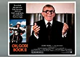 MOVIE POSTER: OH, GOD! BOOK II-1980-VF-LOBBY CARD-COMEDY-GEORGE BURNS-MOTORCYCLE VF