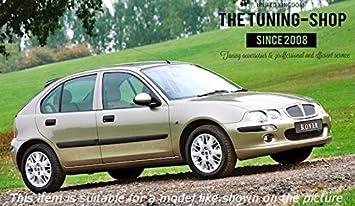 pour Rover 200 et Rover 25 1995-2002 couture rose Soufflet de levier de vitesse en cuir v/éritable noir
