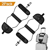 #4: ONSON Bag Bungee, 2Pack Luggage Straps Suitcase Adjustable Belt Carry On Bungee Travel Accessories, Lightweight and Durable, Providing A Big Space for Trip