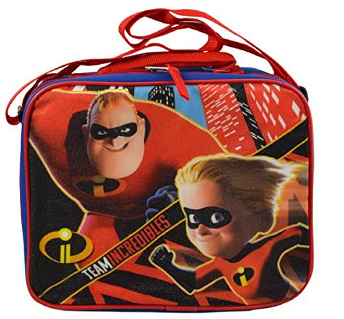 Incredibles 2 Rectangle Lunch Bag with Strap