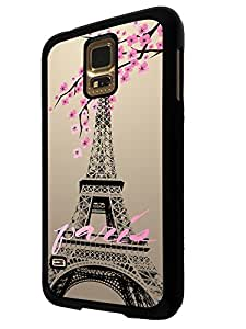 300 - Shabby Chic Floral Paris Eiffel Tower Design For Samsung Galaxy S5 Mini Fashion Trend CASE Back COVER Plastic&Thin Metal