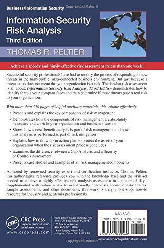 Information Security Risk Analysis: Amazon co uk: Thomas R
