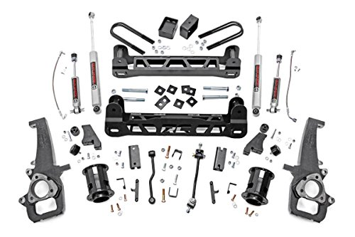 Rough Country - 32120-6-inch Suspension Lift Kit w/Performance N3 Shocks for Dodge: 06-08 Ram 1500 2WD (Lifts Suspension Performance 2wd)