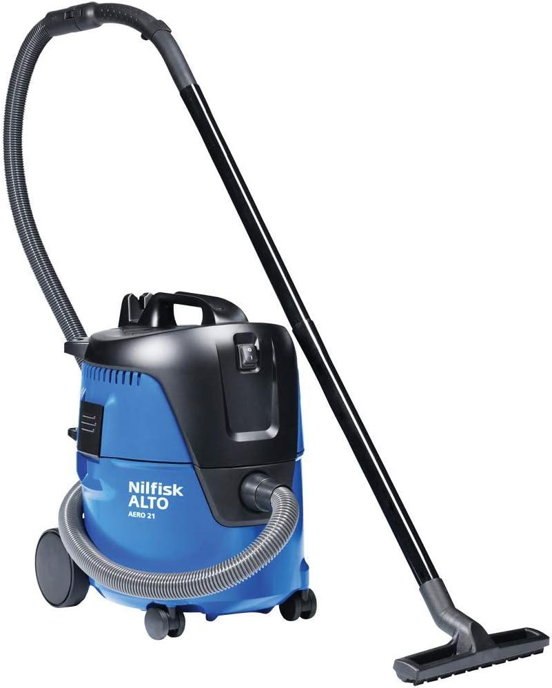 Nilfisk Alto Aero 21-01 5-Gallon Wet/Dry Vacuum - HEPA (107418440)