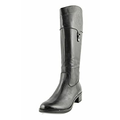 Womens Clarity Closed Toe Mid-Calf Riding Boots