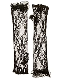 Be Wicked Women's Elbow Lace Gloves