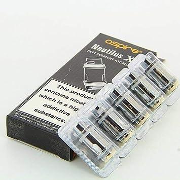 Pack de 5 resistencias Nautilus X 1,8 Ohms Aspire: Amazon.es ...