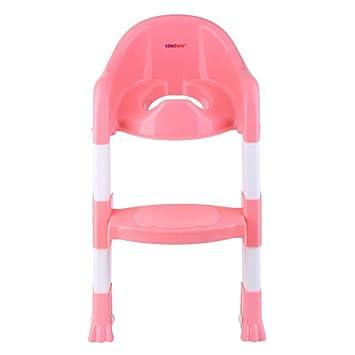 Baby Kids Toddler Potty Training Toilet Trainer Safety Seat Chair Step Ladder EQ