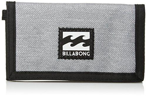 Billabong Men's Classic Tri-Fold Wallet, Light Grey Heather, ONE