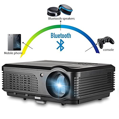 CAIWEI 3200 Lumens Wireless HD LED Projector