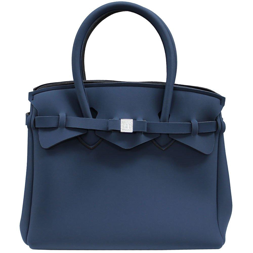 SAVE MY BAG セーブマイバッグ MISS ミス ハンドバッグ レディース 軽量 10204N [並行輸入品] B01MY7YOVT BALENA(デニムブルー) BALENA(デニムブルー)