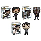 Dishonored 2 Outsider, Emily, Corvo Pop! Vinyl Figures Set of 3
