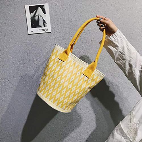 Yellowa hombro Bolso al de hombre nailon Theshy multicolor para qE8ZRwqC