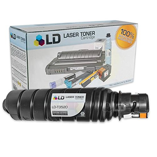 LD Compatible Toner Cartridge Replacement for Toshiba T-3520 (Black) (T3520 Laser Toner)